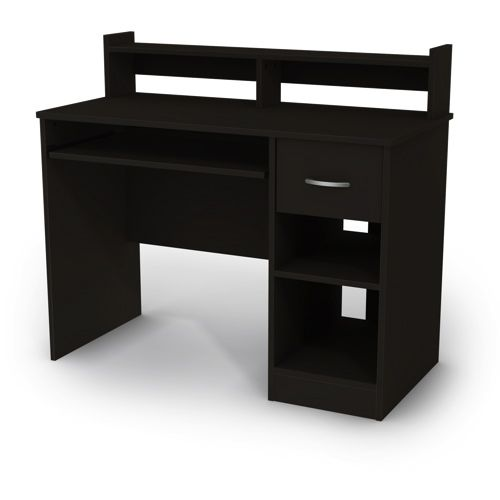 South Shore Axess Collection Desk (7270076) - Black #SetMeUpBBY i love the black							 							 							- Online Only