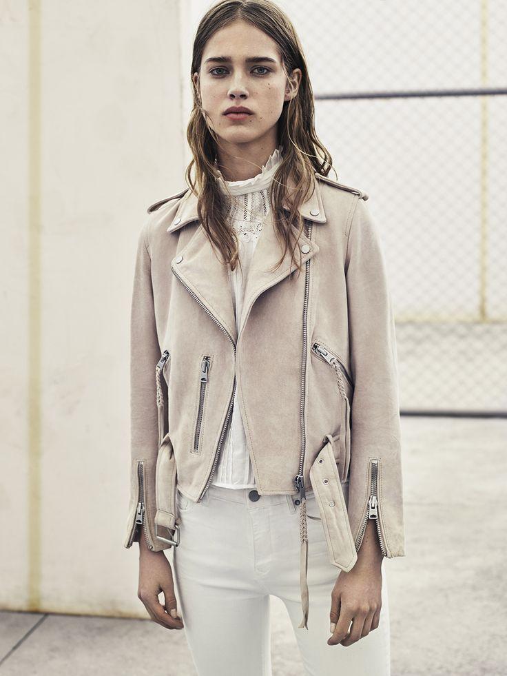 AllSaints Women's April Lookbook Look 1: Grace Jeans, Lolita Shirt