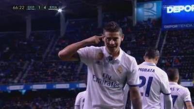 James Rodriguez Second Goal – Deportivo La Coruna vs Real Madrid 2-6 – La Liga 26/04/2017 HD -  Click link to view & comment:  http://www.naijavideonet.com/video/james-rodriguez-second-goal-deportivo-la-coruna-vs-real-madrid-2-6-la-liga-26042017-hd/