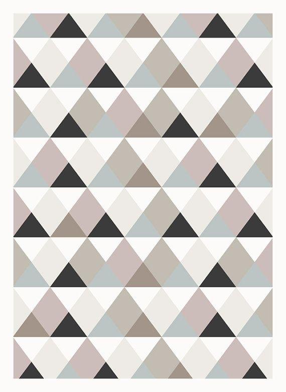 Triangle Quilt Pattern Texture Photos : Best 25+ Triangle pattern ideas on Pinterest