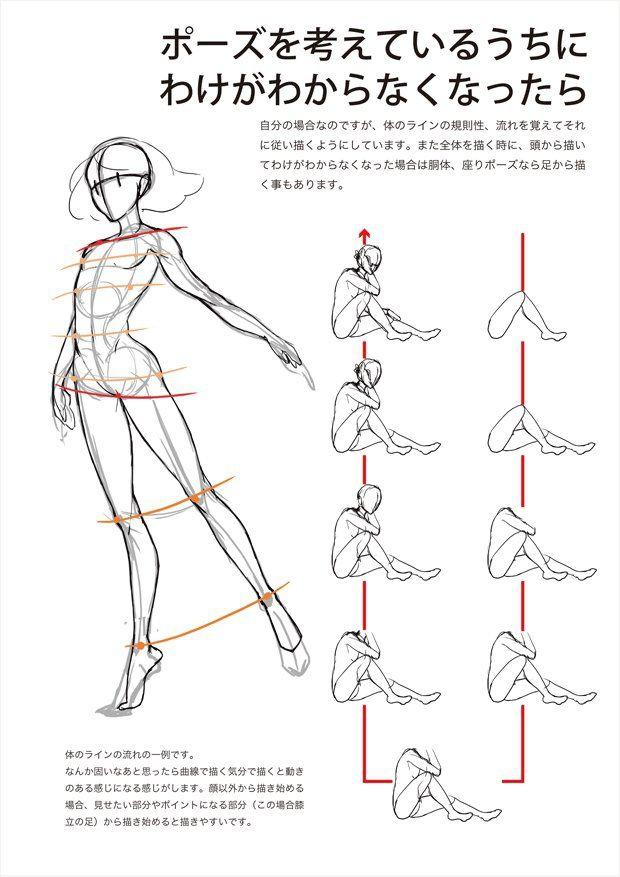 動きのあるポーズを描く時に)ry [6]