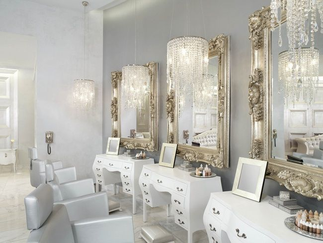 Color Salon By Michael Boychuck Mixes Classic Hollywood Glamour With Modern Design Whether Sipping Champagne In The Lather