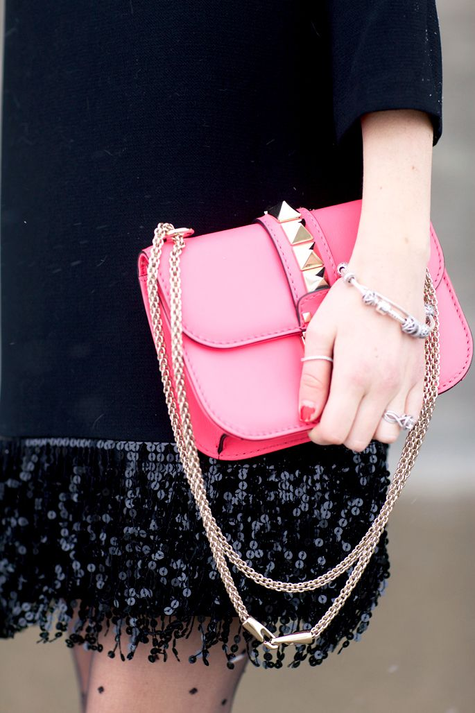 Perfect pop of pink!