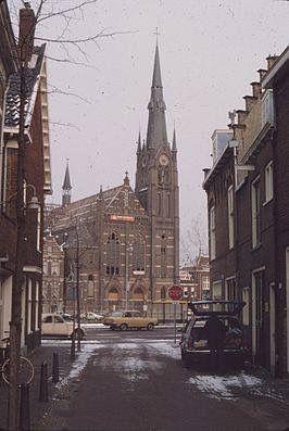 Spaarnekerk vlak voor de afbraak 1983