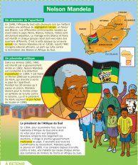 Les dossiers thématiques : Nelson Mandela, une vie contre le racisme