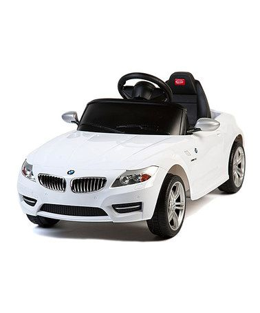 Loving this White BMW Z-4 Ride-On on #zulily! #zulilyfinds