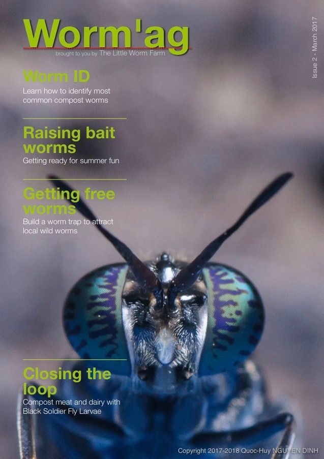 Worm'ag Issue 2 - March 2017  The Worm Farming Magazine,