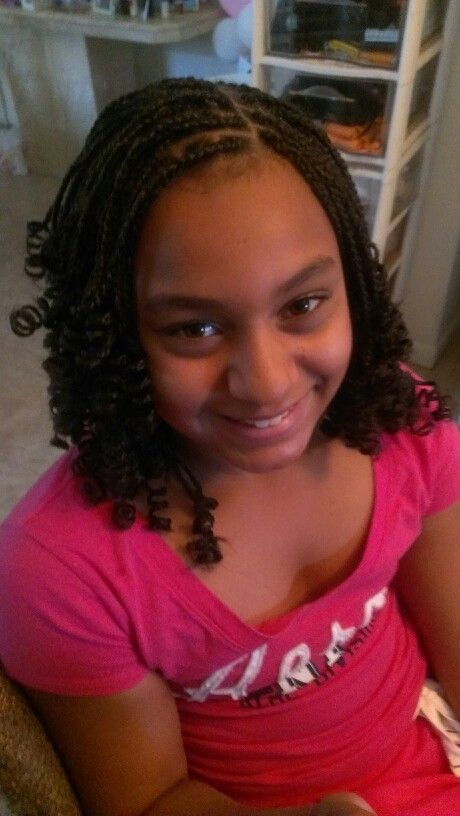 30 Best Box Braids Images On Pinterest Child Hairstyles