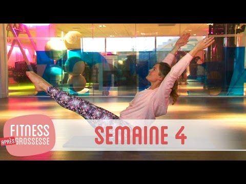 Fitness Après Grossesse – Semaine 4 - YouTube