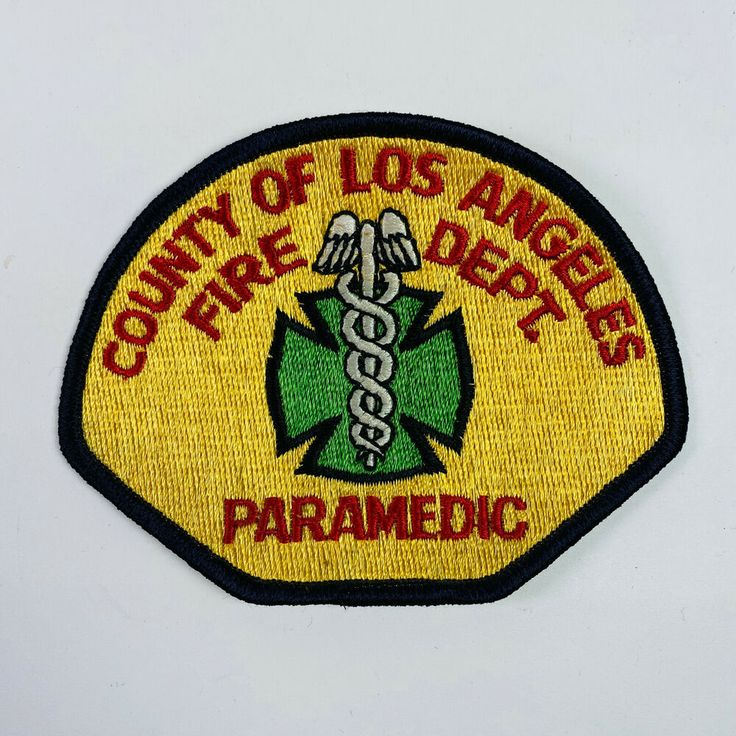 Los angeles county fire department paramedic california