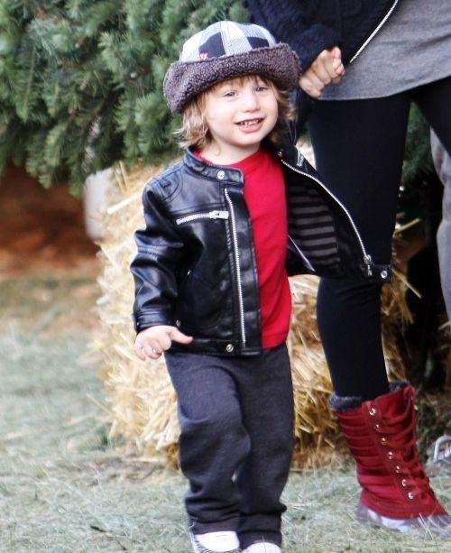 Max Liron, hijo de Christina Aguilera.