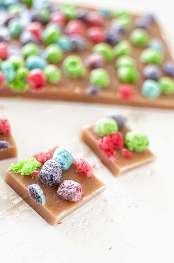 Crunch Berry Caramels