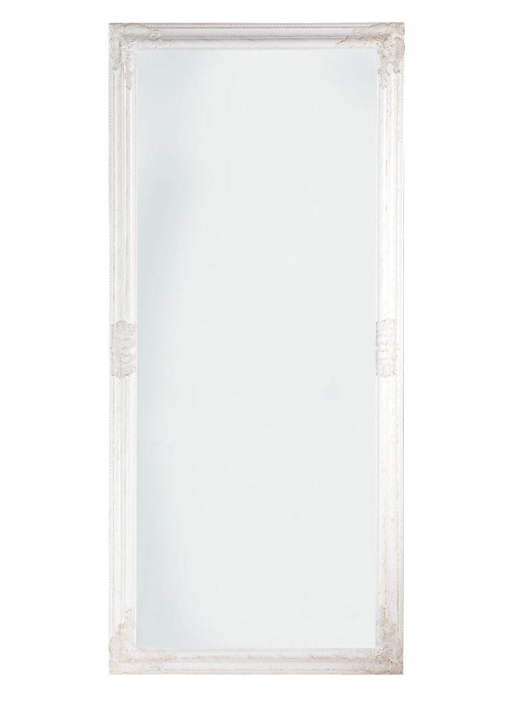 Oglindă RUDE 72x162cm albă   JYSK