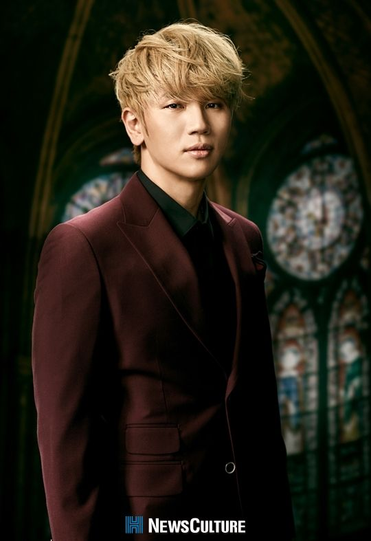 K.Will I love him with Blonde <3