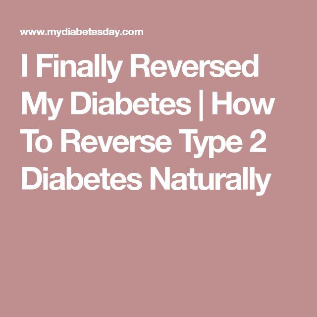 I Finally Reversed My Diabetes | How To Reverse Type 2 Diabetes Naturally