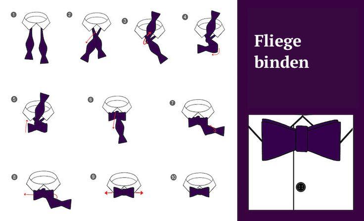 Krawatte-binden-four-in-hand-knoten