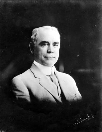 Portrait of L. C. Brand, circa 1910. Brand came to California in 1886 and started the Los Angeles Abstract Company with Edwin Sargent. He and Henry E. Huntington formed the San Fernando Valley Land and Development Company. Brand was president of the Los Angeles and Glendale Railroad Company which provided connections from Los Angeles to Glendale with extensions to Burbank, Pasadena, and Griffith Park. Glendale Central Public Library. San Fernando Valley History Digital Library.History Digital, Collection Pin, Fernando Valley, Digital Libraries, Development Company, Circa 1910, The, Digital Collection, Central Public