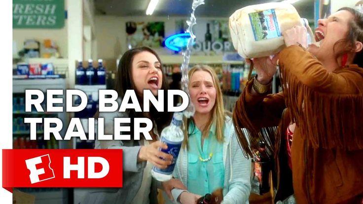 Bad Moms Official Red Band Trailer #1 (2016) - Kathryn Hahn, Kristen Bel...