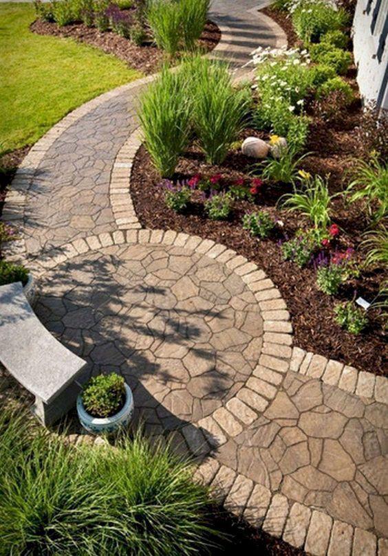 13 fantastische Landschaftsgestaltung Ideen für den Vorgarten, die minimalistisch, aber stilvoll – modest-me.myshopify.com – Dekoration