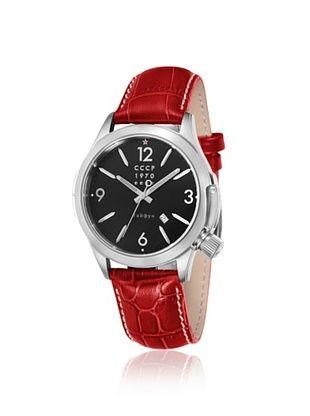 76% OFF CCCP Men's CP-7010-02 Shchuka Red/Black Watch