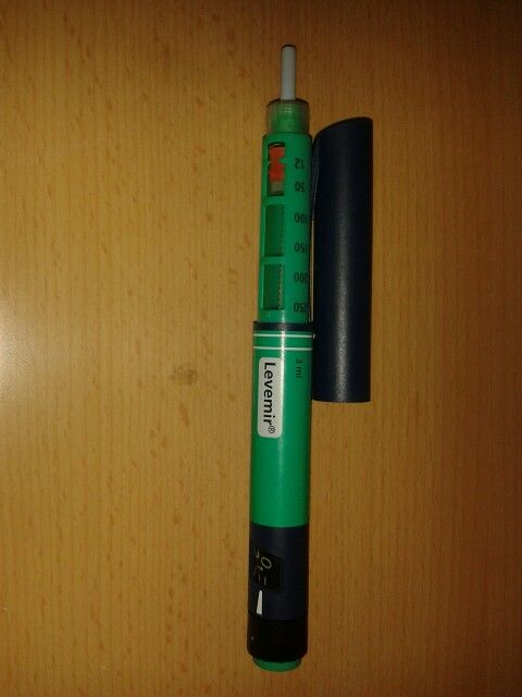 5. Bolígrafo de insulina
