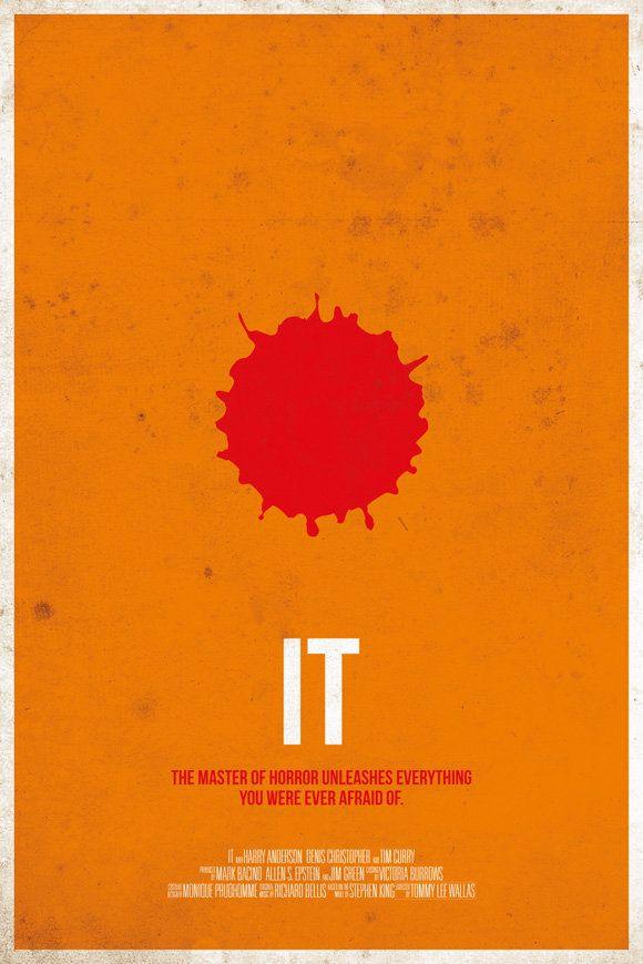 Minimalist Horror Movie Posters