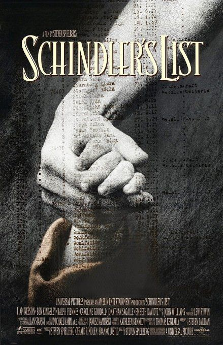 Schindler's List (1993) 9/10 -  My boyfriend's never seen it before so we watched it. I forgot how incredibly powerful and important this film is. It's definitely not an easy one to watch.