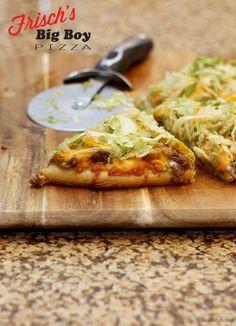 Frisch's Big Boy Pizza | The Blonde Buckeye