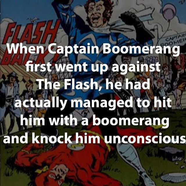 He wasn't that bad in #arrowcw what do you think?... | Captain Boomerang!!!  #captainboomerang #captain #boomerang #dc #dcfacta #dcvillains #villains #villains #facts #flash #unconscious #villainfacts by devilzsmile.com #devilzsmile