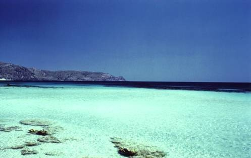 Elafonissi beach, Crete Island