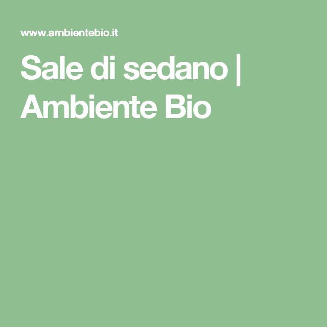 Sale di sedano | Ambiente Bio