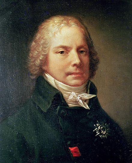 Charles-Maurice de Talleyrand-Périgord, par Pierre-Paul Prud'hon, 1809 (Château de Valençay)[1].
