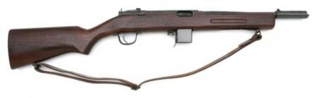 The Reising submachine gun was designed by American Eugene Reising and patented in 1940. Production of the new submachine gun commenced in 1941 at Harrington & Richardson (H) arms factory. In 1942, US Marine Corps signed first contract for delivery of Reising M50 submachine guns, and several tents of thousands of Reising M50 SMG's were delivered to USMC during the war.  Read more at:  http://world.guns.ru/smg/usa/reising-m50-m55-e.html