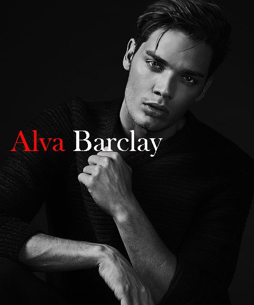 Just for fiction. Dominic Sherwood as Alva Barclay