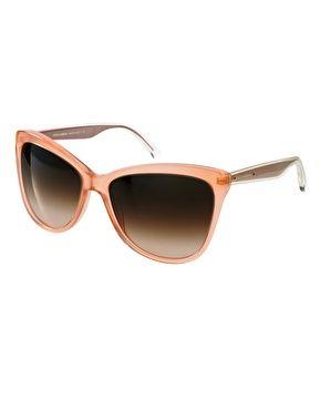 Super cute peach colour! Dolce And Gabanna Mambo Collection Nude Sunglasses