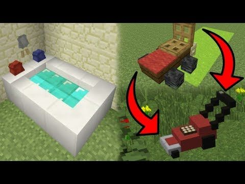 Minecraft - 5 Secret Things That You Can Make in Minecraft! - YouTube