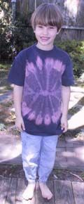 tomorrow's project: (reverse) tye-dyeing with bleach!