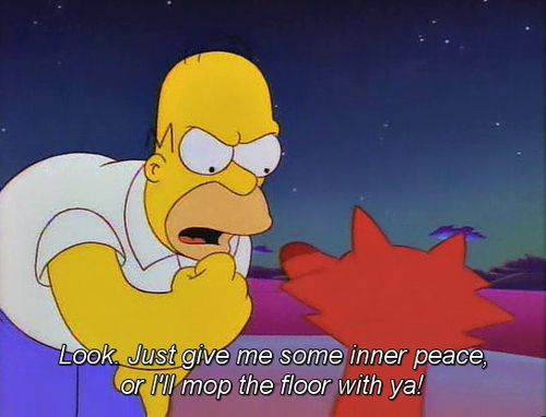 I love the Simpsons.  The 100 Best Classic Simpsons Quotes