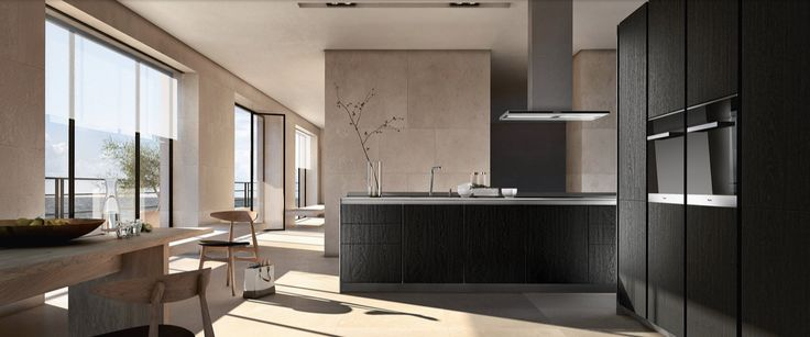 Siematic PURE / S1 / Sucupira veneer with pure lacquer finish / Steven Christopher Design