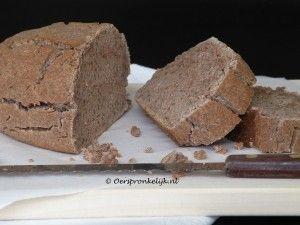 Knapperig paleo brood met kastanjemeel