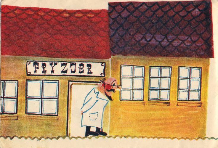 Garaż ilustracji książkowych: Kaczka Dziwaczka - Mirosław Pokora