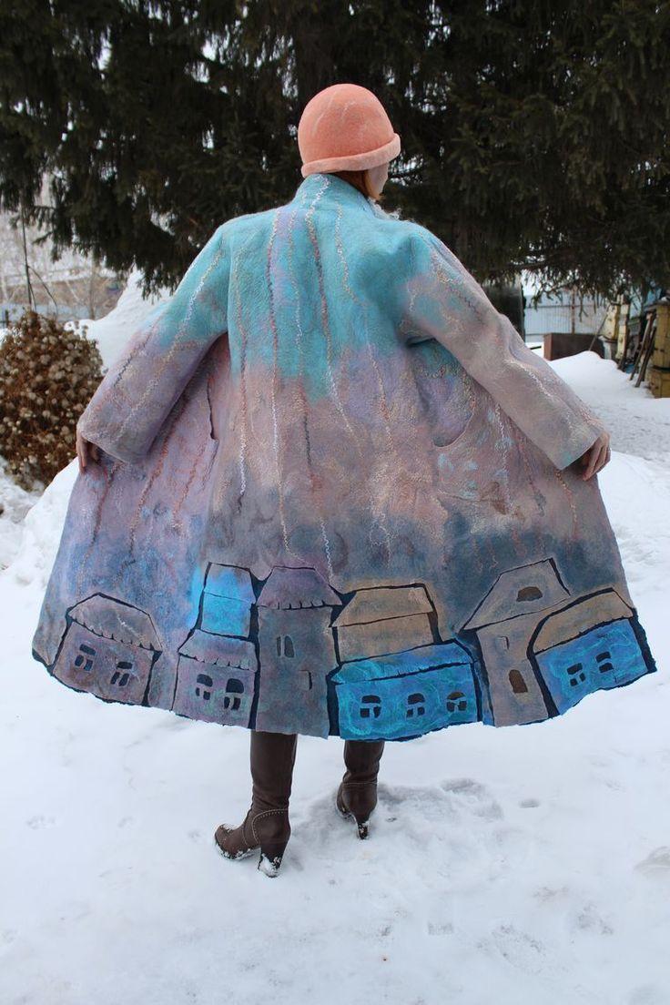 """Новое пальто из коллекции """"Любимый город"""" - Ярмарка Мастеров - ручная работа, handmade"""