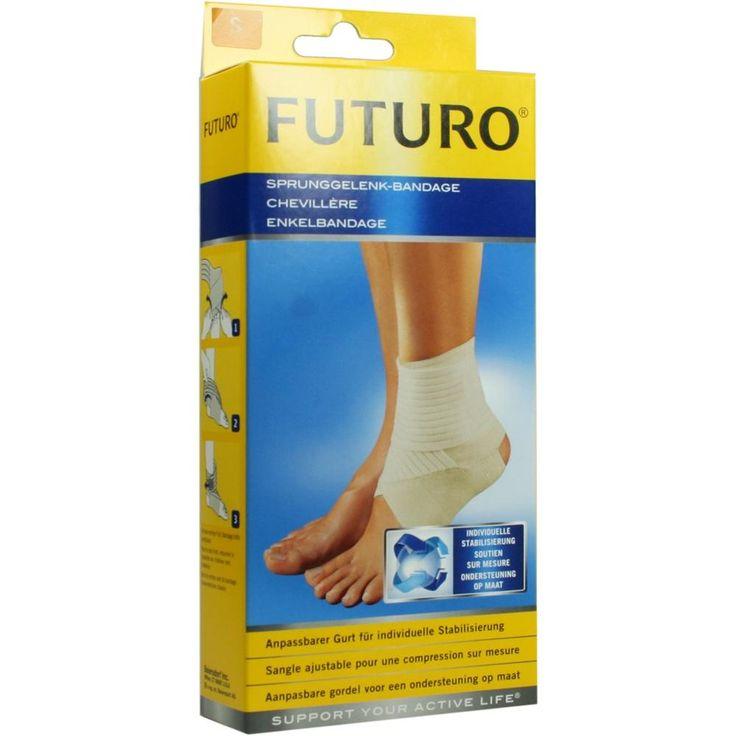 FUTURO Sprunggelenk Bandage S:   Packungsinhalt: 1 St PZN: 07632022 Hersteller: 3M Medica Zweigniederlassung der 3M Deutschland GmbH…