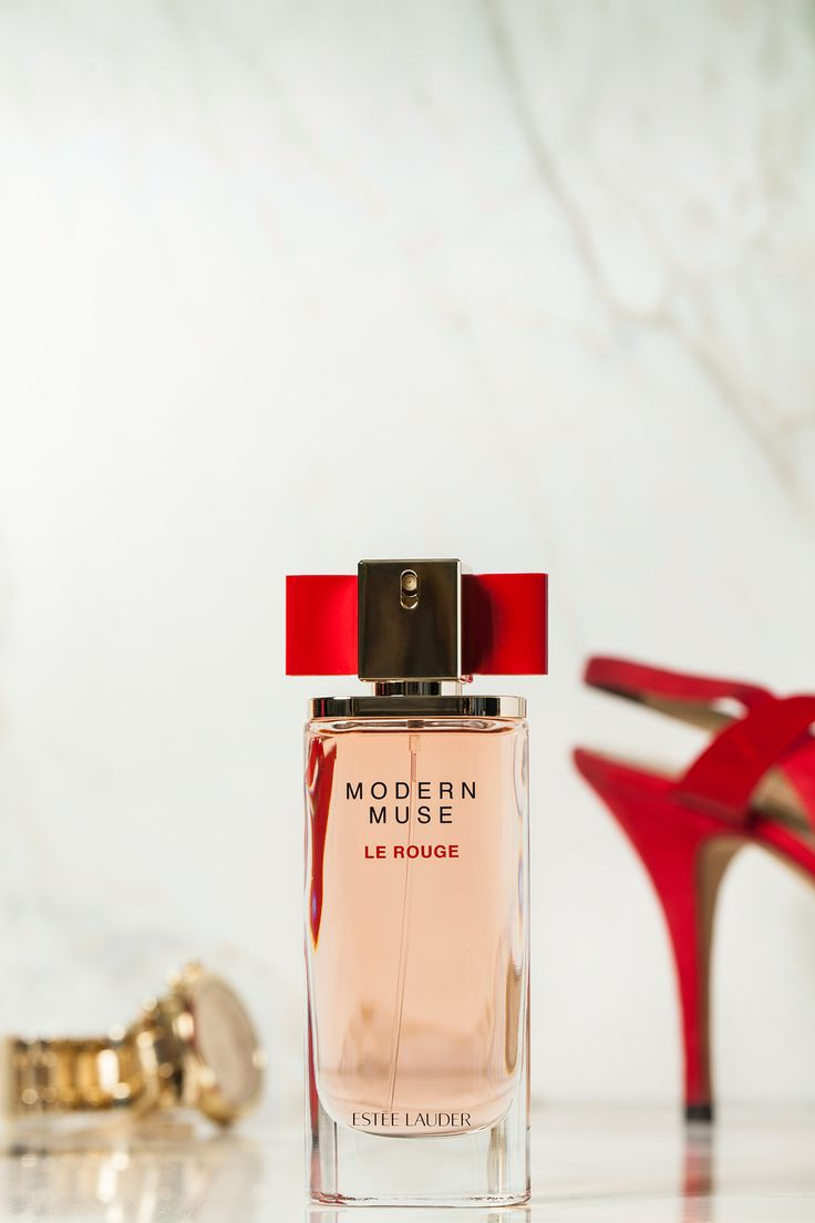 Introducing Modern Muse Le Rouge, our newest perfume for women. It's a creamy, sexy scent with rich roses and luscious fruits. The best fragrance for summer!