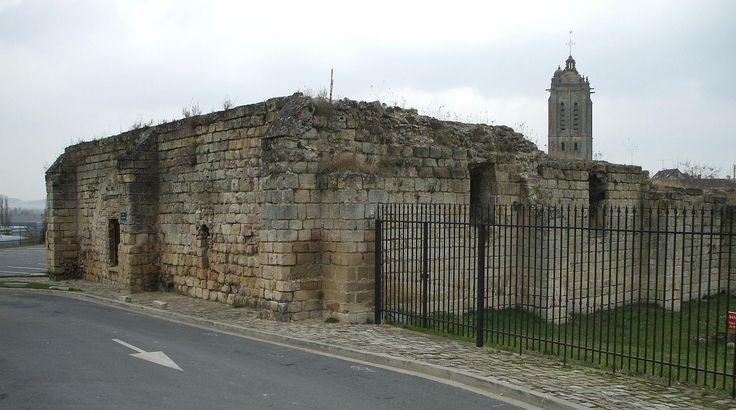 Beaumont sur oise - donjon - Château de Beaumont-sur-Oise — Wikipédia