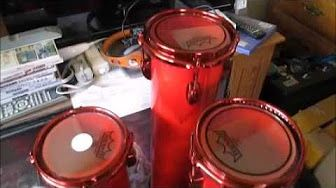 Build Your Own Octobans DIY Do It Yourself Tube Drums PVC Conduit Create Drum Drummer Drumming