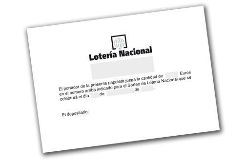 Crea #Online tus propias Participaciones de #Lotería