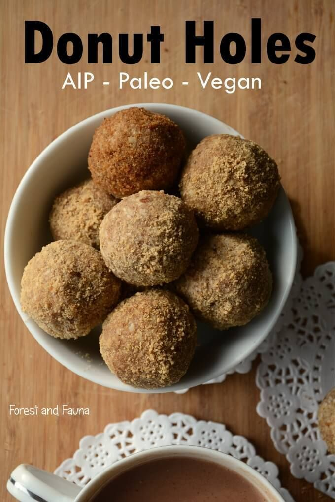 """EVERYTIME I make these """"donut holes"""" I am blown away by how delicious and satisfying they are. They totally take me back to memories of eating my favorite crumb donuts as a child. I have gotten the same reaction from those who attended my raw food """"cooking"""" classes over the years where I would sometimes..."""
