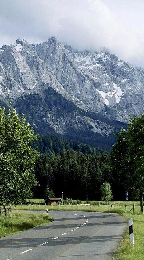 The Zugspitze ~ Alps ~ in Garmisch, Germany