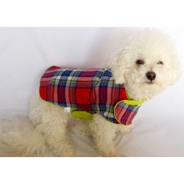 Lightweight Spring Reversible Eco Friendly Small Dog Jacket